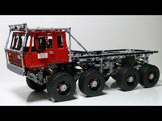 Tatra 813 DAKAR Lego + free building instructions - YouTube