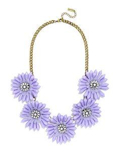 Bold blooms in soft lavender make a pretty pastel statement.