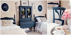 This Guest Bedroom Got a Vintage-Style Makeover – All With Craigslist Finds