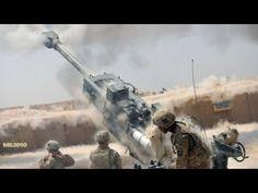"""Дракон пустыни"" гаубица M777A2 / ВДВ США на севере Ирака"