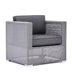 Buy Clear Water Bay Armchair Gray online with free shipping from thegardengates.com