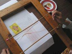 DIY Bead Loom Eliminates Many Thread Ends! ~ #Seed #Bead #Tutorials