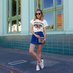 Style by Lolly | The Band Tee | http://stylebylolly.com