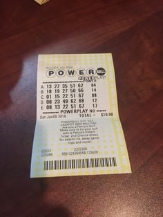 First time lottery because its record breaking winning amount! $900 million! And since no one won that amount now its $1.3 billion!