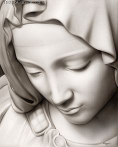 Tattoo Art Realistic Virgin Mary Statue Ebay  Free Download picture 13708