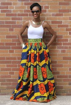 The collection of Beautiful Ankara Pattern Styles For Ladies you've ever wanted to see. Want to style and pattern your African print ankara African Inspired Fashion, African Print Fashion, Africa Fashion, Fashion Prints, African Fashion Skirts, African Print Skirt, African Print Dresses, African Dress, African Prints