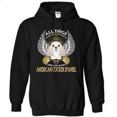 American Cocker Spaniel Dog SkyPin - #shirt #under. CHECK PRICE =>…