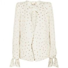 Chloe Embroidered Jacquard Blazer as seen on Rosie Huntington-Whiteley