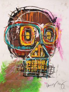 Jean Michel Basquiat Art, Jm Basquiat, Life Paint, Illustration, Modern Art, Contemporary Art, Andy Warhol, Vincent Van Gogh, Portraits