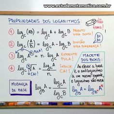Logaritmo 3 Calculus, Algebra, Statistics Math, Math Notes, School Study Tips, Lettering Tutorial, Math Notebooks, Study Hard, School Notes