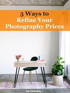 One of the scariest things about running a photography business is figuring out your photography pricing.Once you've done all the math and know how to profitably price your photography, the next step is to present and display your prices so that your clients see you're worth what you're asking to be paid.Below, I'm critiquing the photography pricing list of one of my Simplified Photography Pricing Formula students, Ciera Kizerian. Photography Price List, Photography Business, Students, Display, Running, Math, Floor Space, Billboard, Fotografie
