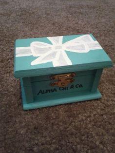 ADPi & co. - this would make a really cute pin box!!!