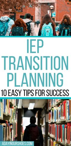 Everything you need to start working on a successful transition plan for your teen. Includes all the wording from IDEA, tips, ideas and even a free workbook!