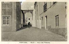 Beja passagens nas muralhas - 1930 - Arco dos Prazeres - Beja y Arrabaldes