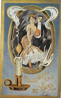 Lovely vintage halloween greetings vintage card halloween vintage halloween greeting cards m4hsunfo