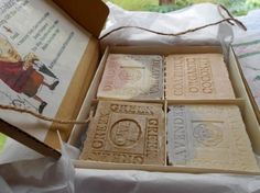 Artisan Natural Handcrafted Organic Soap Grandma's All Natural Handmade Cold Process Skin Care Benefits Body face and Hand Soap Wedding Favours Luxury, Homemade Wedding Favors, Wedding Favors For Guests, Unique Wedding Favors, Vintage Candy Bars, Favour Jars, Diy Candles, Handmade Soaps, Gifts For Kids
