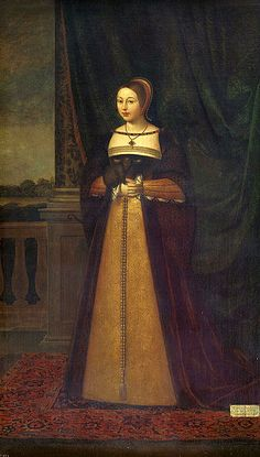 Margaret Tudor spent her childhood at Sheen and at Eltham Palace, but was sent to Scotland at the age of thirteen to marry James IV following the 1502 Treaty of Perpetual Peace between England and Scotland. Margaret and James had been married by proxy on 25th January 1503 at Richmond Palace but married in person on 8th August 1503 at Holyrood Abbey. James IV and Margaret Tudor went on to have six children, including the future James V of Scotland, father of Mary Queen of Scots.