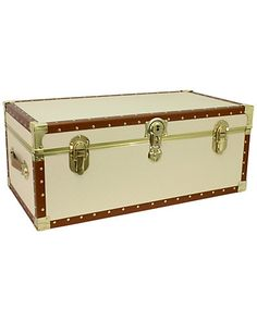 Affordable dorm trunk for $55.  Great for moving in and under-mattress storage.