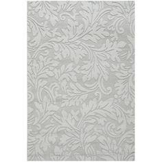 Safavieh Handmade Fern Scrolls Grey New Zealand Wool Rug (5' x 8') - Overstock™ Shopping - Great Deals on Safavieh 5x8 - 6x9 Rugs