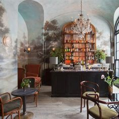 Le Coucou, New York, NY - now that is a bar.