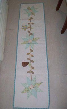 Stars & Vine Tablerunner.  Pattern $15.95