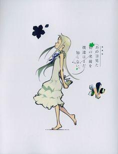 /Honma Meiko/#1685006 - Zerochan   Ano Hana   A-1 Pictures