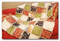 A Photo Rag Quilt...Some day I'll learn to sew...