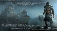 Nothing is true, everything is permitted - Imgur