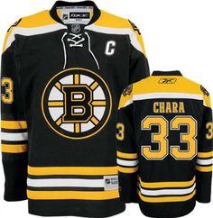 reebok 3 4 sleeve. nhl men\u0027s boston bruins #33 zdeno chara reebok edge premier player jersey (black, 3 4 sleeve