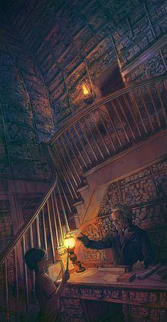 ArtStation - Harry Potter and the Philosopher's Stone-FanArt-04, Vladislav Pantic