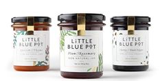 The story of how sophistication and jam met. Little blue pot is a statement recognised by hedonists, gourmands and all of those who enjoy food on the exclusive