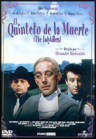 El quinteto de la muerte (1955) Reino Unido. Dir: Alexander Mackendrick. Comedia. Vellez - DVD CINE 1107