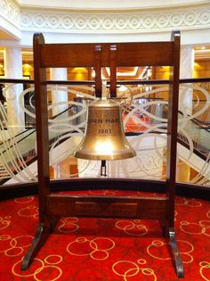 Queen Mary 2's bell.
