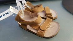 f487691473ce New Infant Girls Old Navy Tan Faux Suede Sport Sandals 3-6 6-12