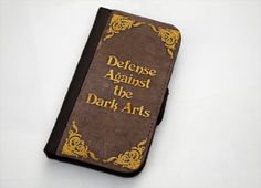 Harry Potter Defense Against the Dark Arts iPhone 5/5s Leather Wallet Case - for next phone?