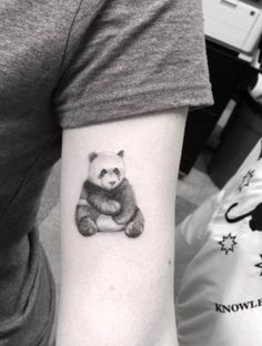 Panda Tattoo Design by Dr. Woo