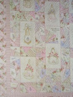 Crabapple Hill Quilt Pattern  Hand Embroidery  237 Heirloom Romance