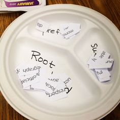 This activity focuses on taking big words and dividing them up into root words, prefixes and suffixes. If students have prior knowledge on all three or just with root words and need more practice identifying them, this activity provides just that. Teaching Language Arts, Teaching Writing, Speech And Language, Teaching English, Teaching Ideas, English Writing, Teaching Spanish, Word Study, Word Work