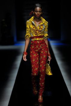 Mix it Up. Waxdye. Gorgeous African Textiles. -cultural mixtures in a garment. (intro to fashion history)