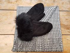 Etole pure laine alpaga et moufles femme en peau d agneau noire YLIN - par  Esprit Nordique 7d3dbe48a1b