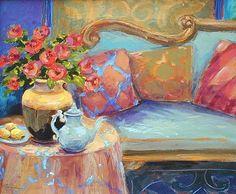 Beautiful Still Lifes by Katherine Steiger American Artist