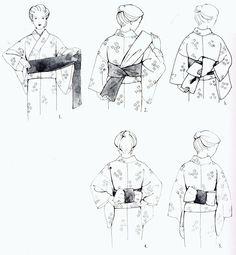 Obi Knot Japanese Kimono, Japanese Style, Nihon, Pop Art, Knot, Costumes, The Originals, Clothing, Outfits
