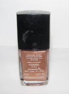 CHANEL Nail Polish Gold Shimmer 179