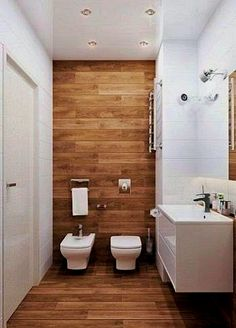 Explore these bathroom decor ideas for your small space. Get storage ideas, tile ideas, and ideas for your next remodel with our favorite small bathroom decorating ideas! Simple Bathroom, Modern Bathroom, Master Bathroom, Redo Bathroom, 1950s Bathroom, Bathroom Vanities, Bathroom Storage, Bathroom Layout, Bathroom Interior Design