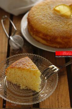 Torta al limone senza burro   <3