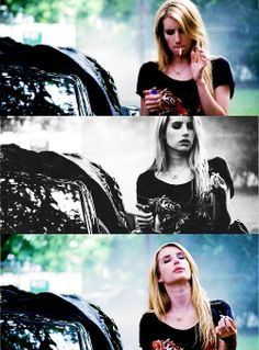 Emma Roberts as Madison Montgomery, Coven American Horror Story Seasons, American Horror Story Coven, Madison Montgomery, Anthology Series, Horror Show, Book Tv, Orphan Black, Series Movies, Tv Series