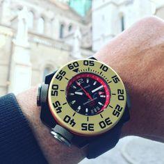 MARK GOLD The GAMECHANGER 3000 GMT Dive Watch.
