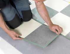 Linoleum flooring and how to install it. It also tells what linoleum floor tools are needed. Linoleum Kitchen Floors, Linoleum Flooring, Vinyl Flooring, Natural Flooring, Best Flooring, Flooring Options, Flooring Ideas, Mosaic Glass, Mosaic Tiles