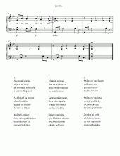 Čerešne (Cherries) | Noty pro klavír a akordeon