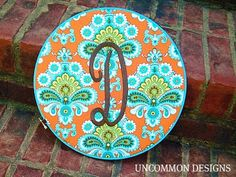 From the Vault: Monogrammed Embroidery Hoop Art | Uncommon